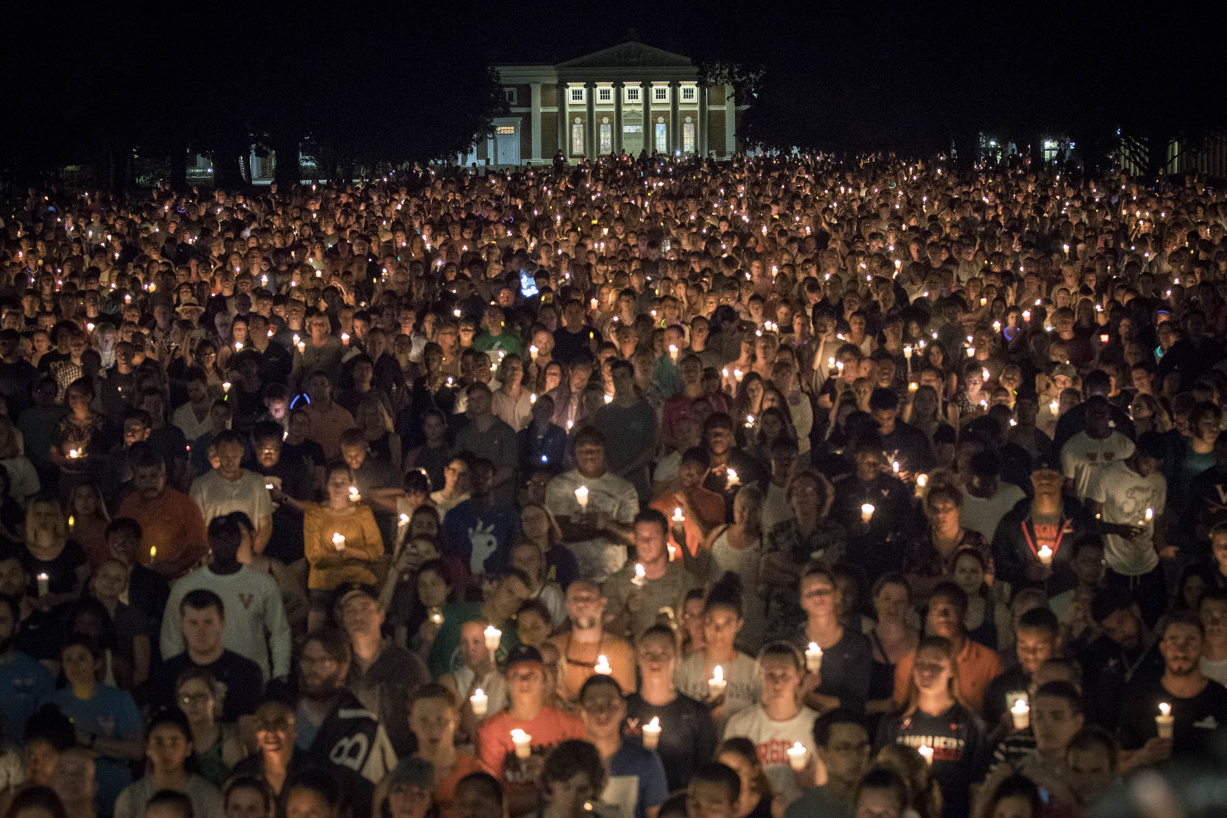 UVA Candlelight March